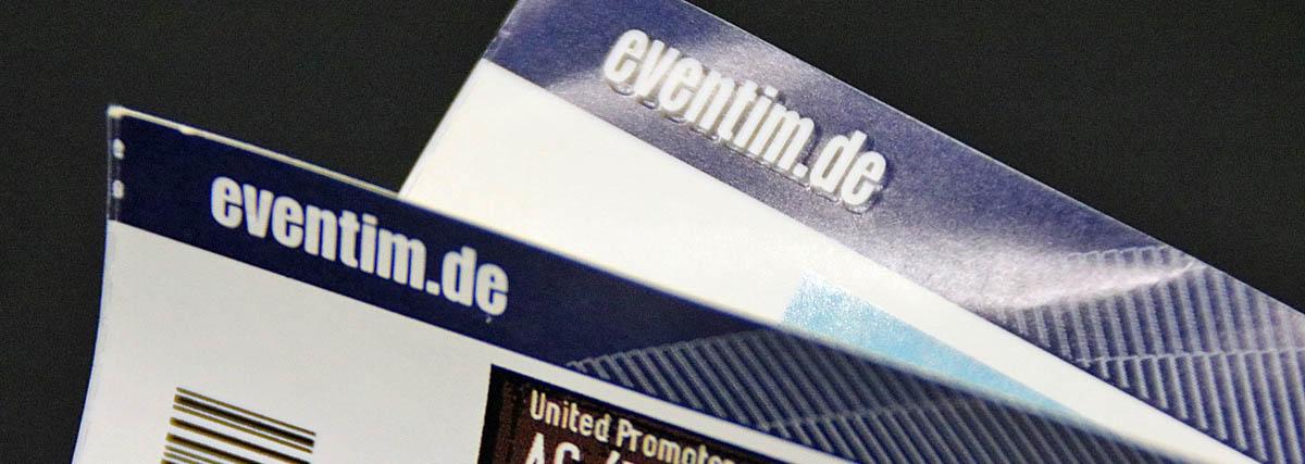Tickets zum Selberausdrucken: Eventims \