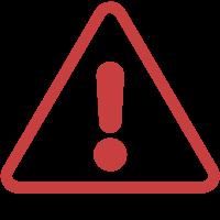 Warnzeichen mit Ausrufezeichen