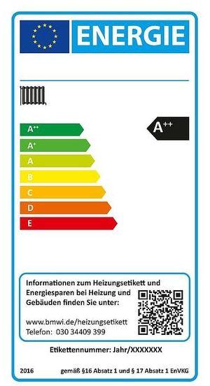 Energielabel für alte Heizkessel | Verbraucherzentrale.de