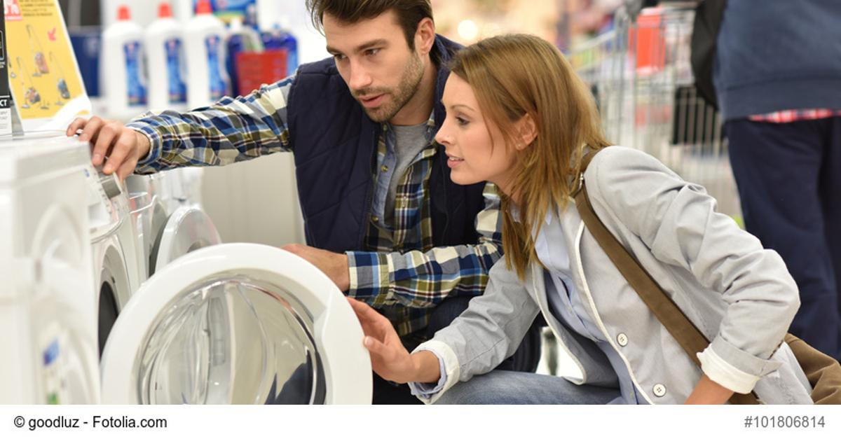 Beim Kauf einer Waschmaschine an den Stromverbrauch denken