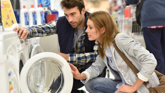 Beim Kauf einer Waschmaschine an den Stromverbrauch denken ...