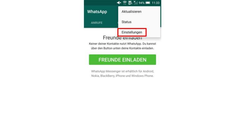 whatsapp? hierauf sollten sie bei messengern achten, Einladung