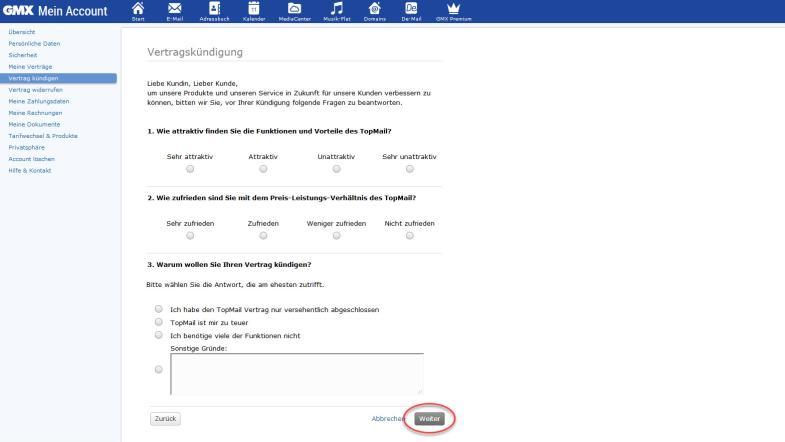 Klickfalle Bei E Mail Anbietern So Kommen Sie Aus Den Verträgen