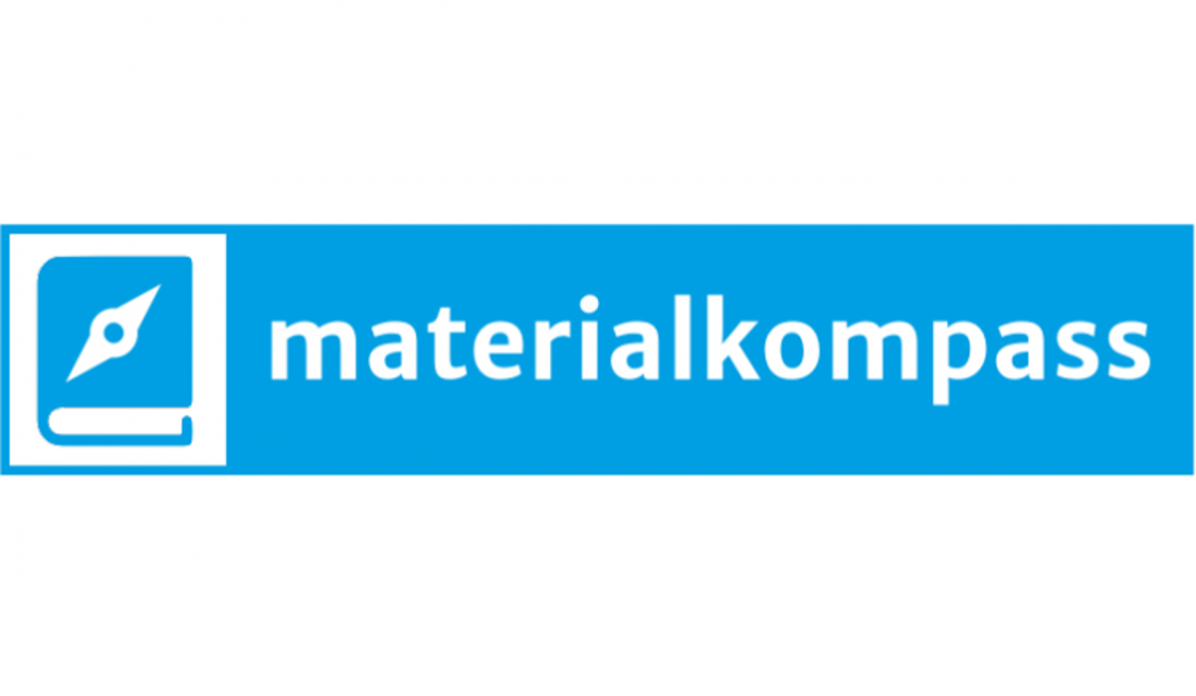 Logo des Materialkompass des vzbv