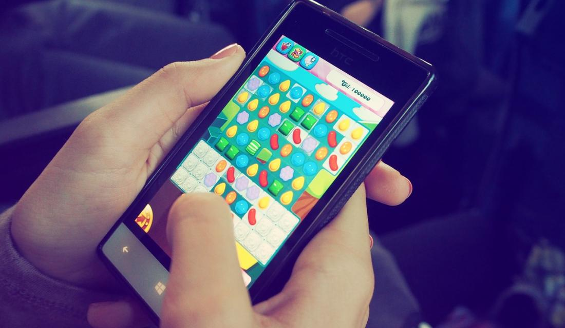 App smartphone game spiel candy-crush